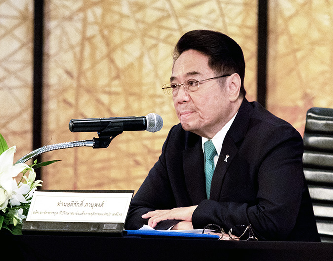 Adisak Panupong, Special Advisor to the Thailand Institute of Justice. Photo: UN Women/Buris Nawong