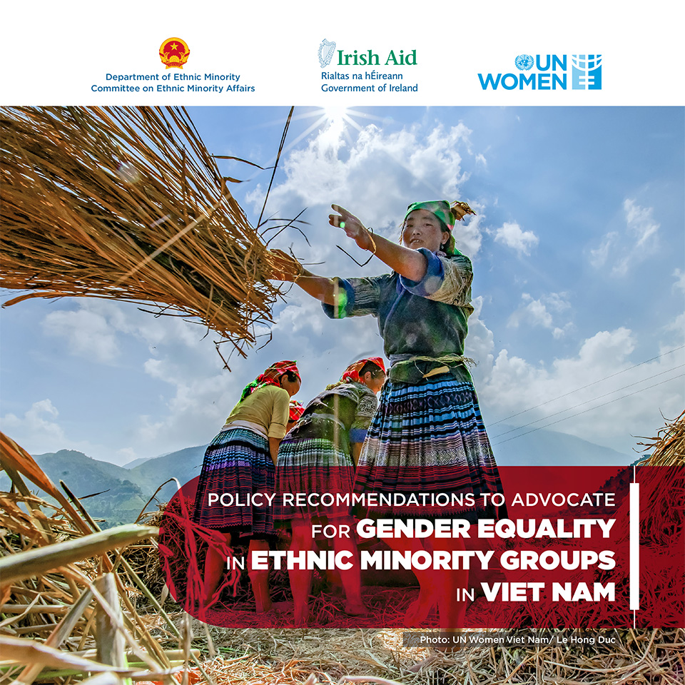 Policy recommendations to advocate for Gender equality in ethnic minority groups in Viet Nam