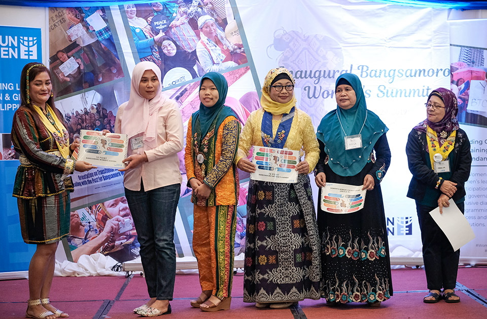 Bangsamoro Women's Summit raises grass-roots women's voices and pushes for women's participation in peacebuilding