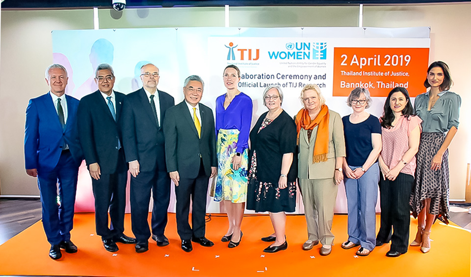 UN Women and Thailand Institute of Justice strengthen partnership to ensure female victims can get justice