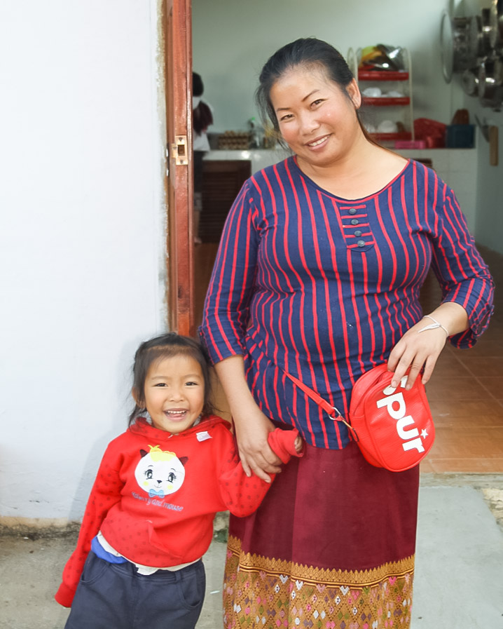 After the training, a smile now lights Vangpa's face, as hope is reborn. Photo: Courtesy of Keshia D'silva