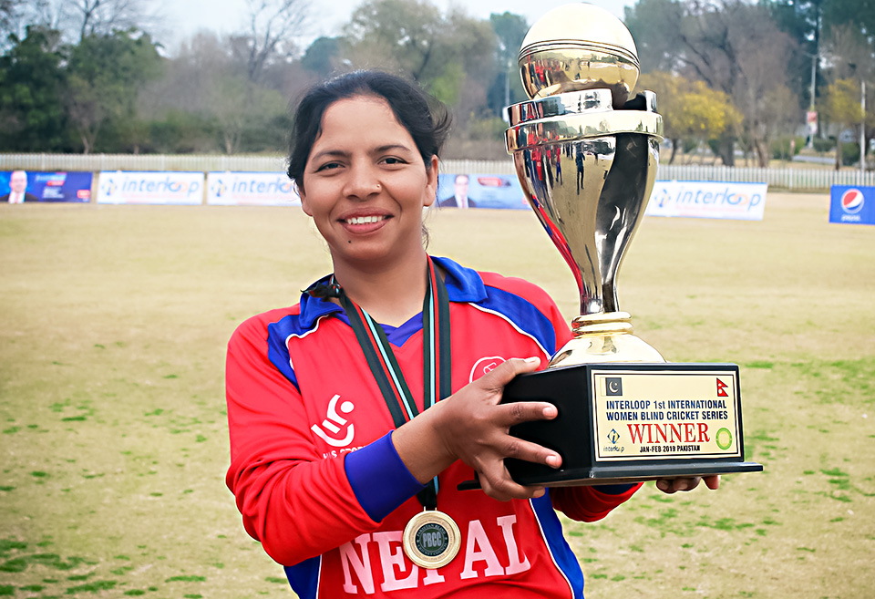 "From where I stand: ""We won the First International Women's Blind Cricket Series"""