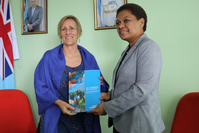 A commitment to further uphold women's rights and support services in Fiji