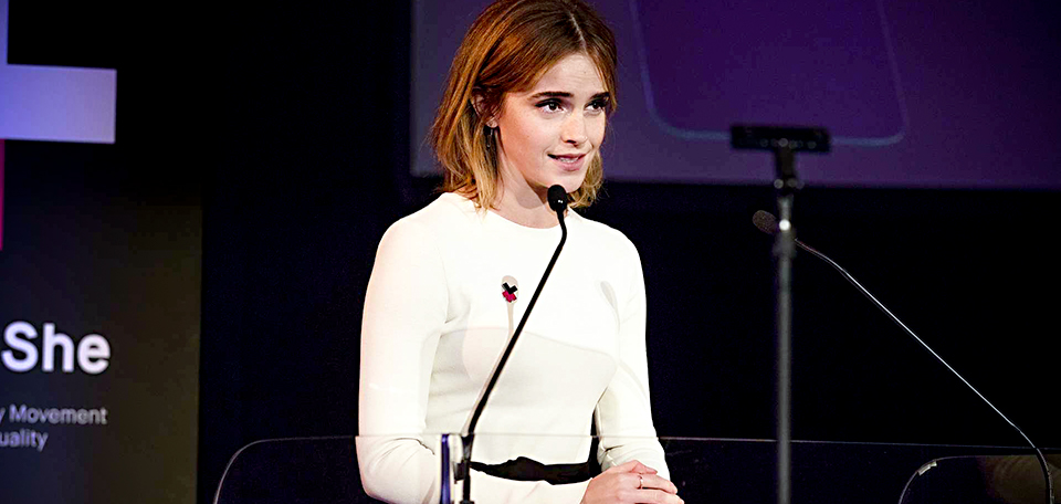 Actor Emma Watson Commemorates Two Years of HeForShe. Photo: HeForShe