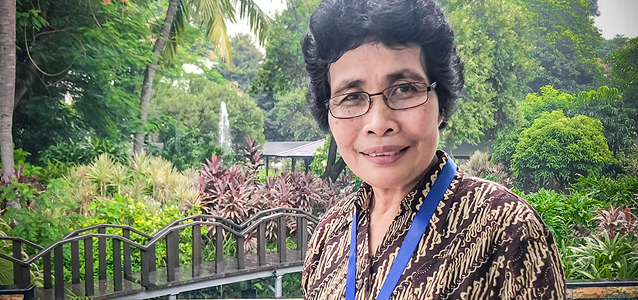 Judge Albertina Ho in Jakarta, Indonesia, on December 12, 2018. Photo: UN Women/Radhiska Anggiana