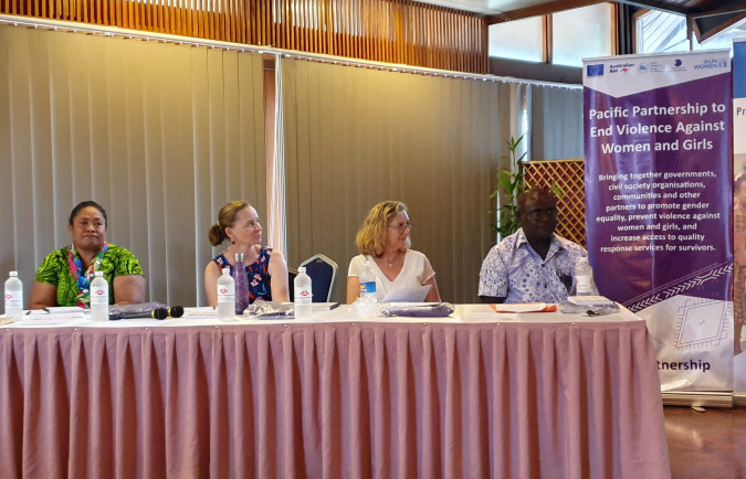Solomon Islands launch of the new Pacific Partnership to End Violence Against Women and Girls