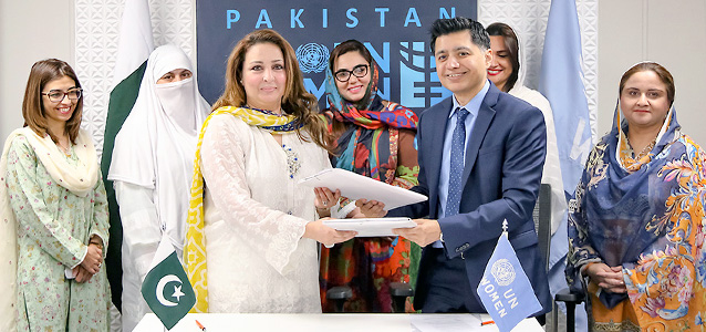 UN Women, Provincial Women Parliamentary Caucus ink accord to end child marriages and women trafficking in KP