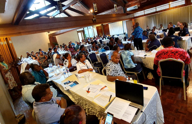 Provincial services gather in Honiara to improve support for women and girl victims of sexual and gender-based violence