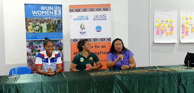 An #EqualPlayingField for Women and Sport Planned for Samoa 2019 Pacific Games