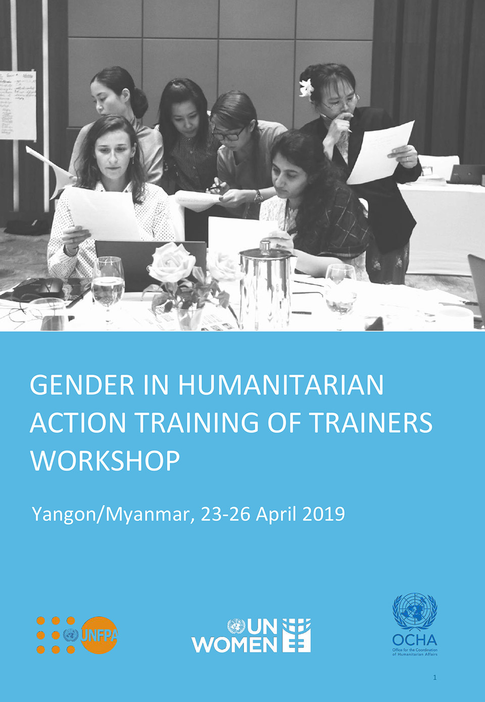 Gender in Humanitarian Action Training of Trainers Workshop