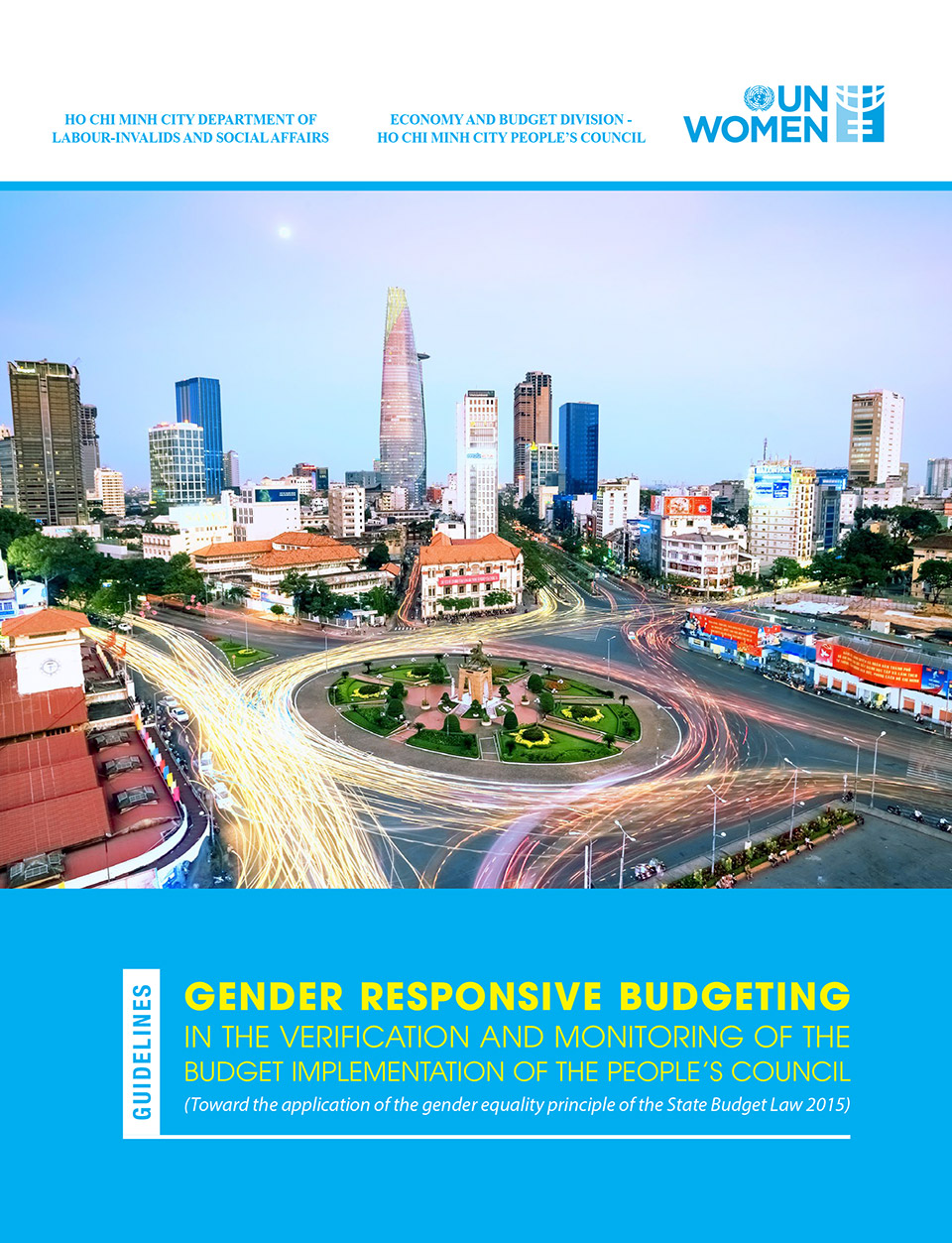 The Guidelines on Gender Responsive Budgeting in the verification and monitoring of budget implementation of the People's Council