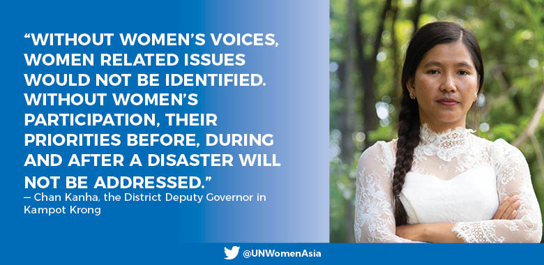 Stepping in: Women must lead in dealing with natural disasters in Cambodia