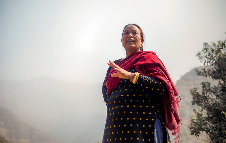 UN Women helps boost harvests for women in the hills of Nepal