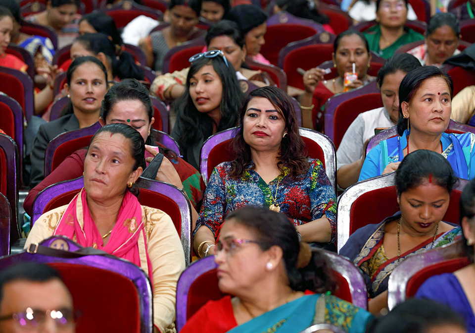 Over 700 women leaders from all over the country attended the event. Photo: UN Women/Laxmi Maharjan