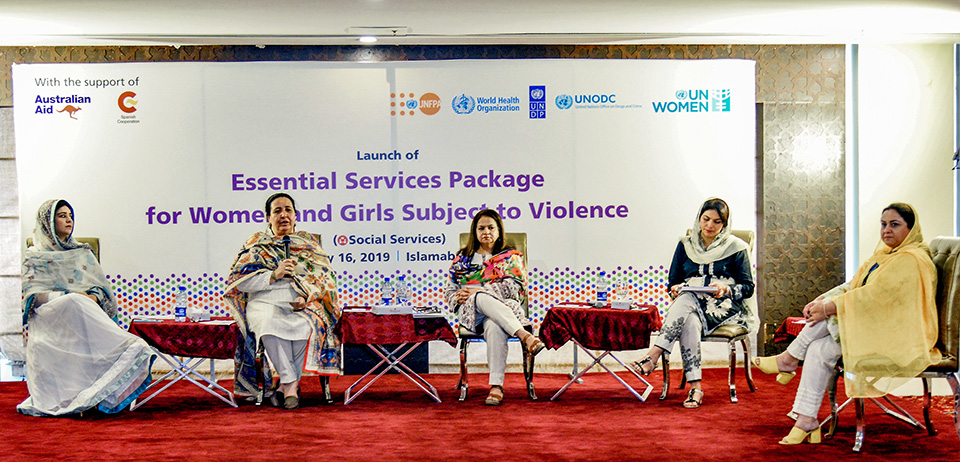 UN Women Pakistan launches Essential Services Package for social services for women and girls subject to violence in Pakistan