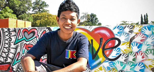 "From Where I Stand: ""Being part of the LGBTI community in Timor-Leste.."""