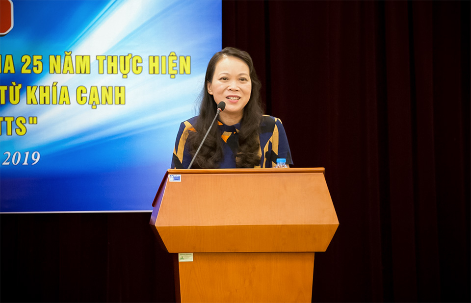 Ms. Hoang Thi Hanh, Deputy Minister of Committee on Ethnic Minority Affairs. Photo: UN Women/Vu Phuong