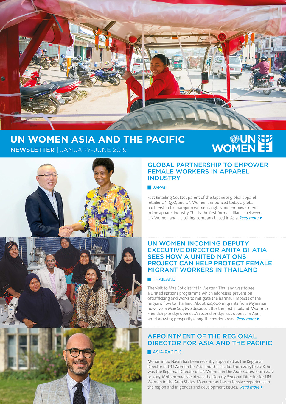 UN Women Asia and the Pacific Newsletter | January—June 2019