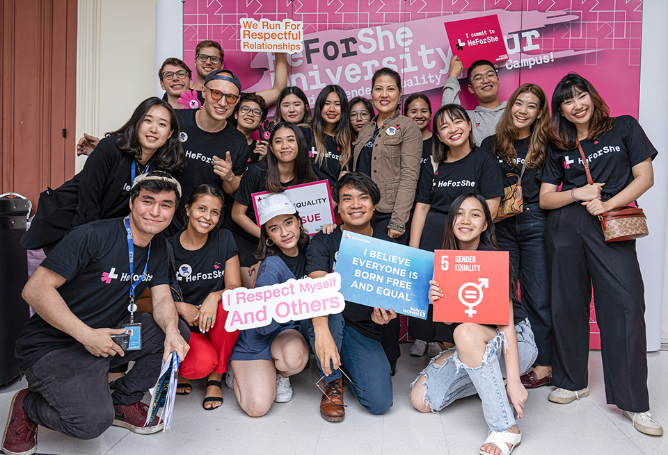 Thai University Students Shape Campuses to be More Equal with the HeForShe University Tour