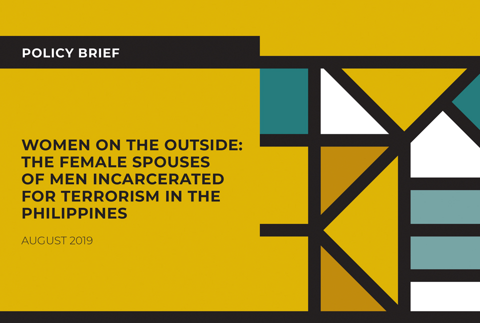 Women on the Outside: The female spouses of men incarcerated for terrorism in the Philippines