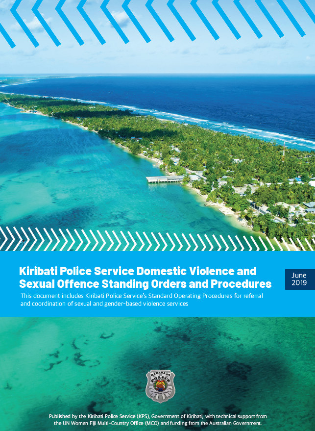 Kiribati Police Service Domestic Violence and Sexual Offence Standing Orders and Procedures