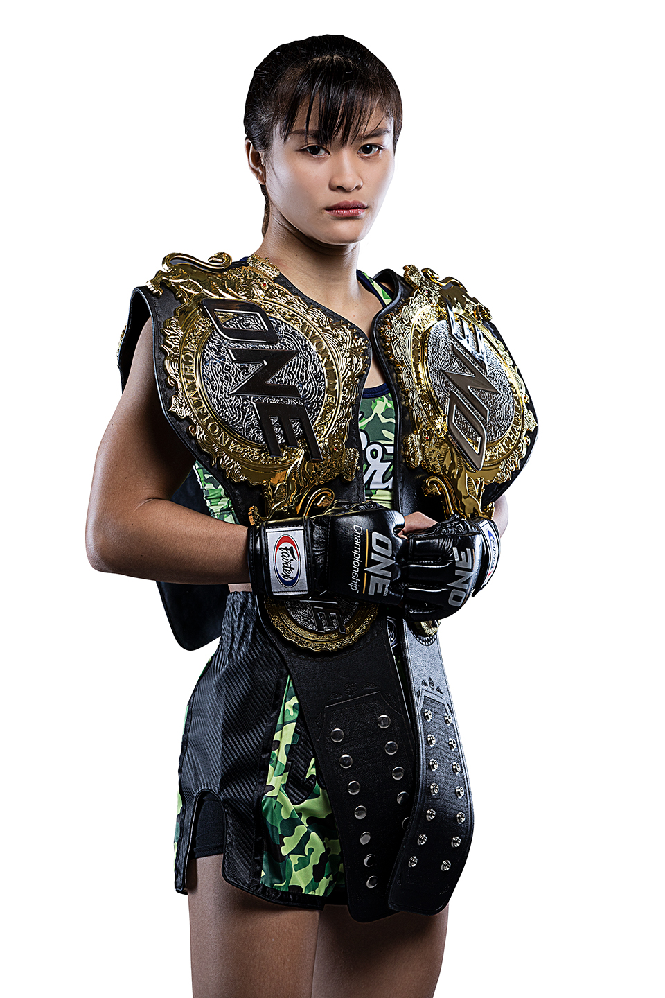 Stamp, a champion. Photo: ONE Championship