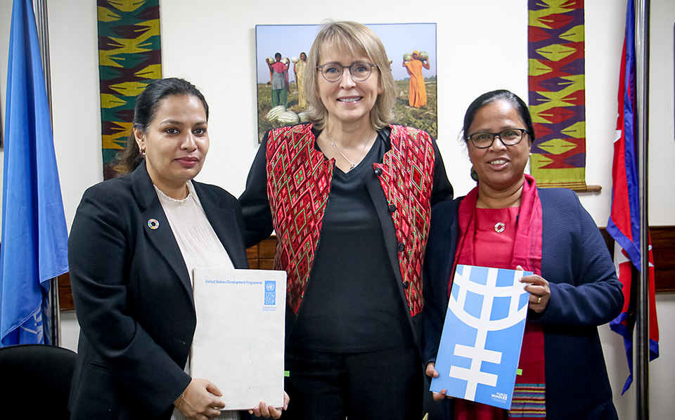 UN Women and UNDP deepen cooperation over women's rights in Nepal