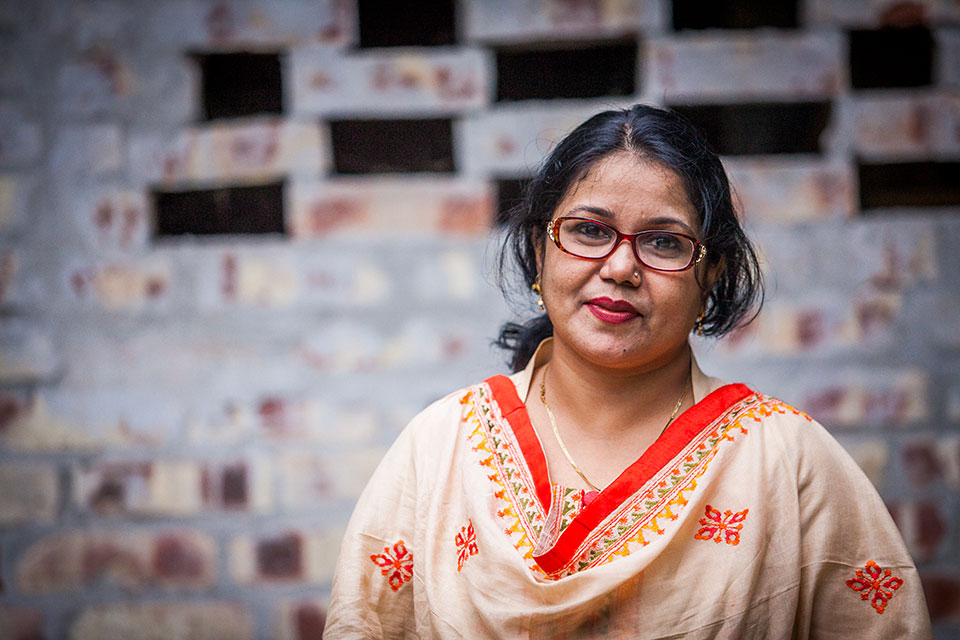 Parveen Akter. Photo: UN Women/Fahad Kaizer