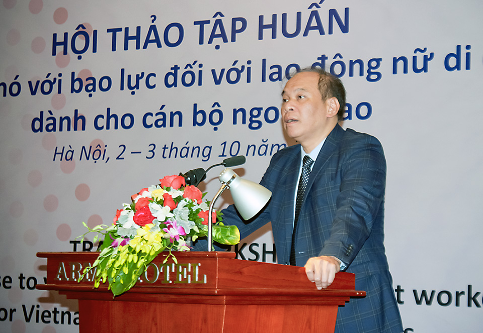 Vietnamese diplomats learned new skills to boost the rights of women migrant workers