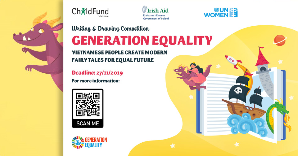 Generation Equality: Vietnamese people create modern fairy tales for equal future