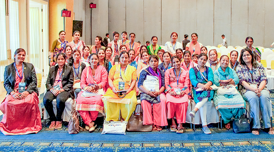 Participants from a diverse range of grass root women's organizations attended sessions that emphasized the significance of pro bono work in enhancing access to justice. Photo: Legal Aid and Consultancy Centre