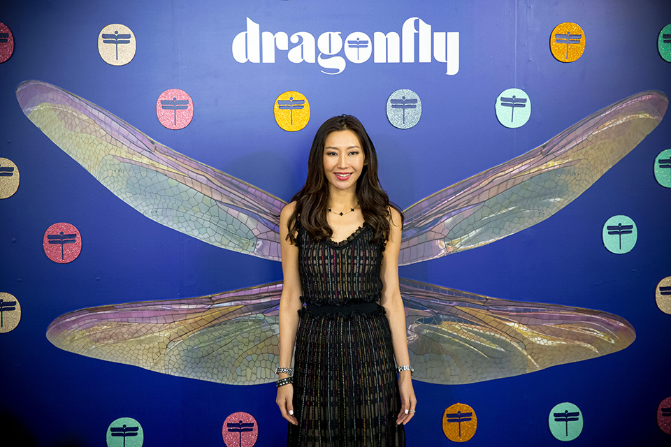 Pranapda (Pam) Phornprapha, founder of the Dragonfly gender equality movement and one of the leading businesswomen of Thailand, talks about why she decided to champion gender equality. In November 2019, UN Women collaborated with Dragonfly on a summit to tackle gender inequality and challenge social norms in South-East Asia. Photo: Courtesy of Dragonfly