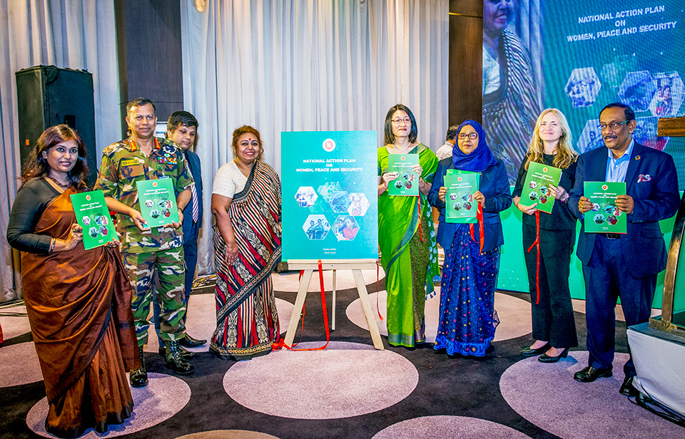 Bangladesh launches first National Action Plan on women, peace and security as per UN resolutions