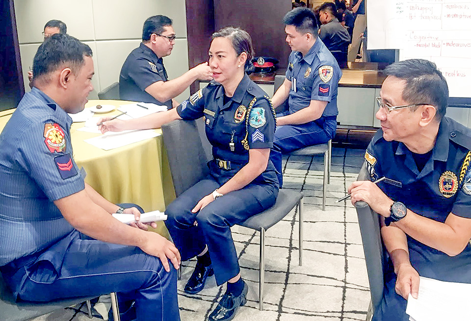 Philippine Police and Customs Officers Challenge Gender Stereotypes