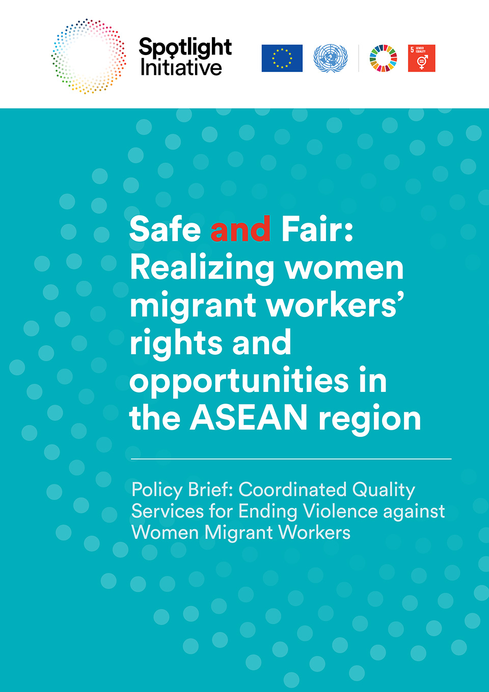 Coordinated Quality Services for Ending Violence against Women Migrant Workers