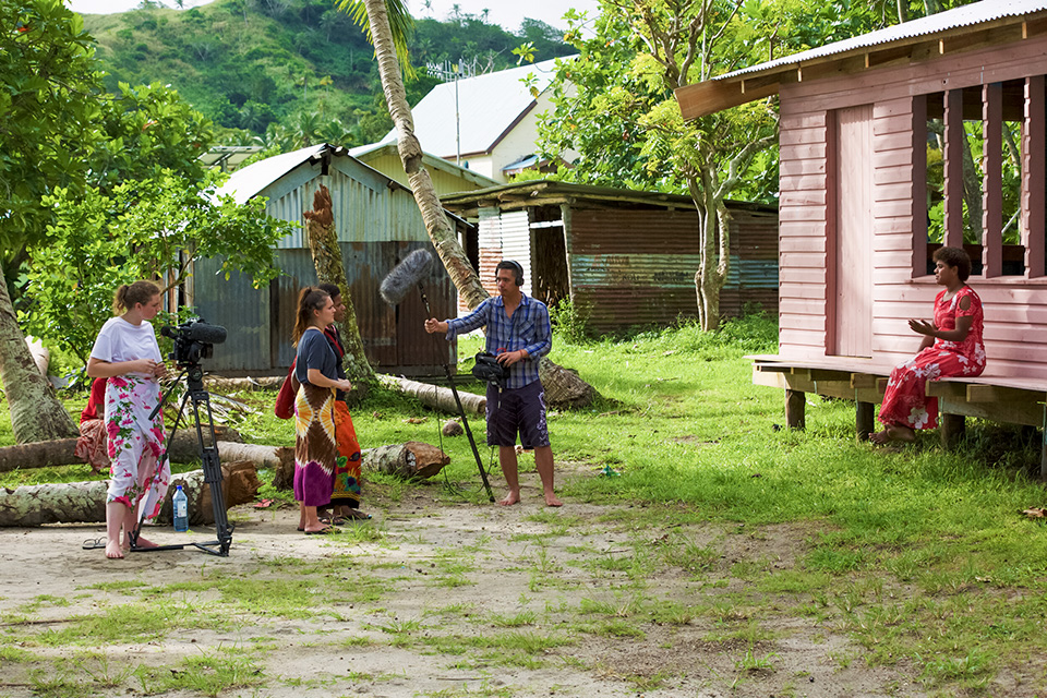 Film made by women shows women struggling with climate change in Fiji