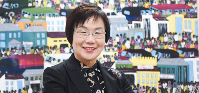 I am Generation Equality: Lee Mi-kyung, overseas aid administrator and women's rights activist