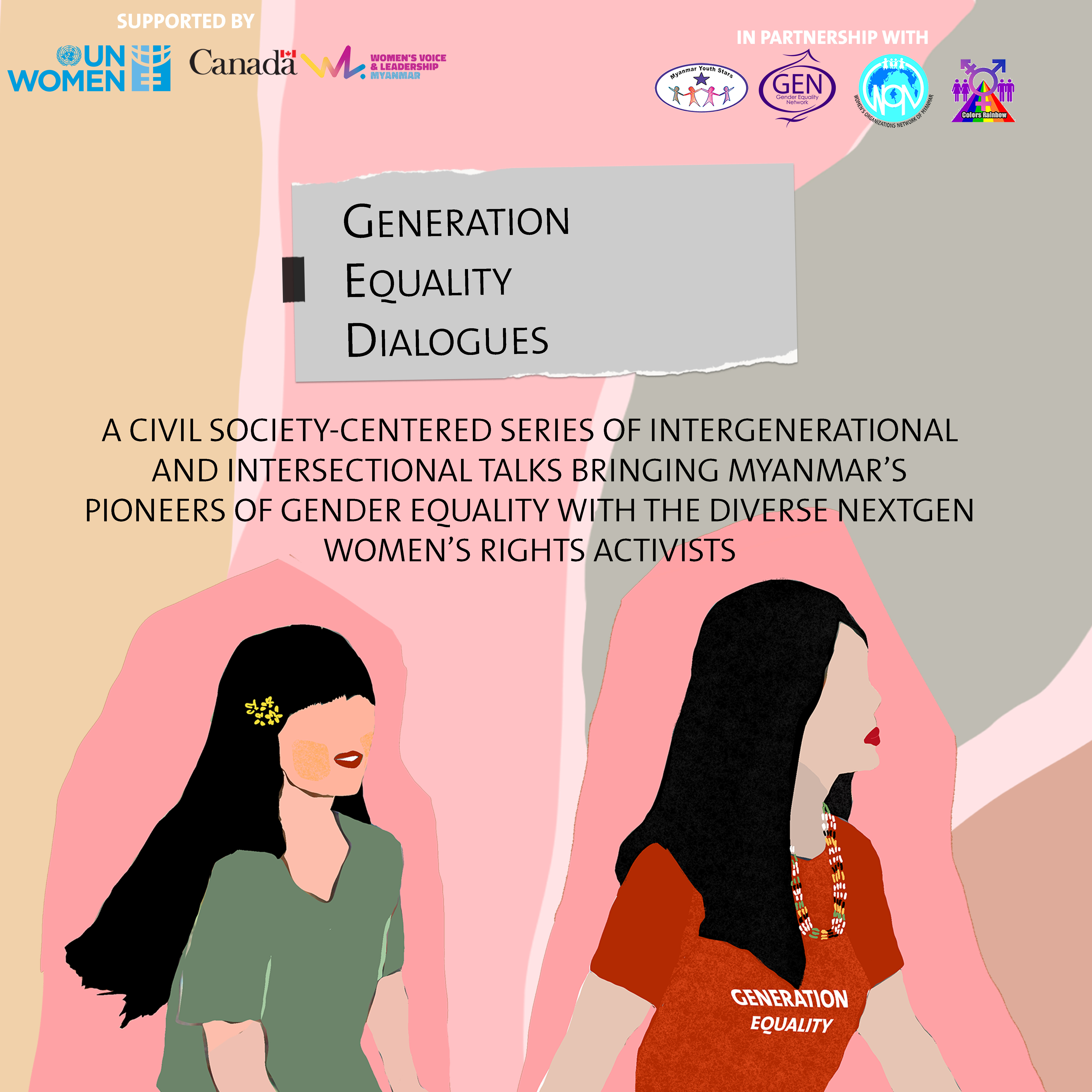 Generation Equality Dialogues Myanmar