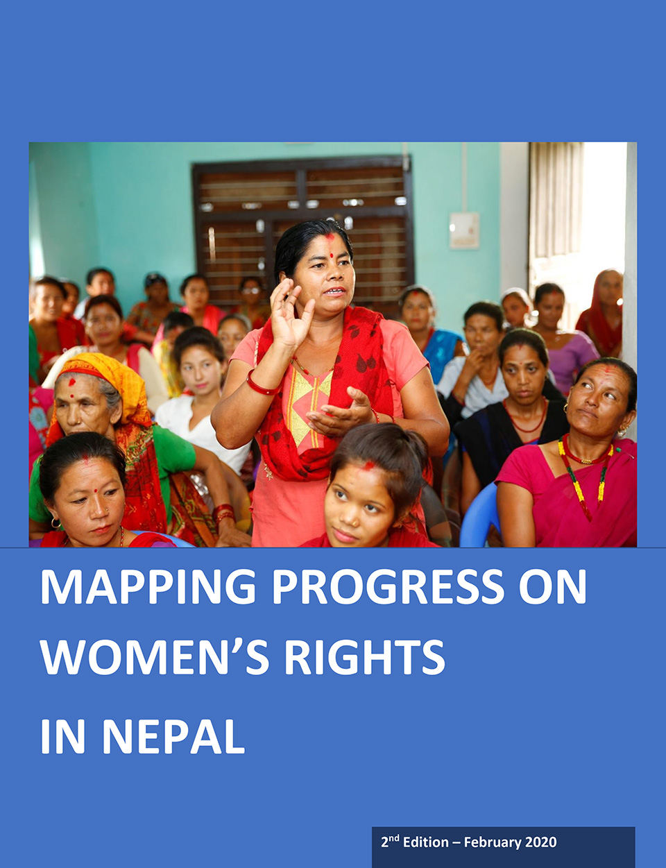 Mapping progress on women's rights in Nepal