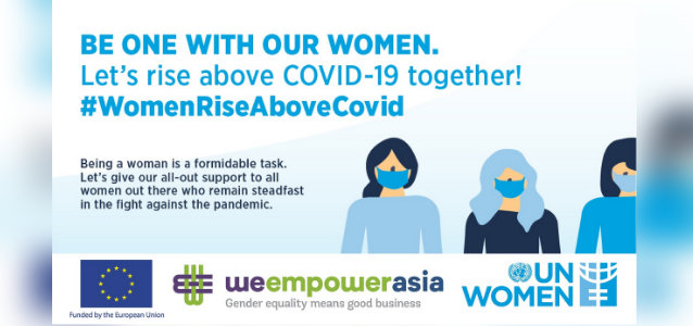 #WomenRiseAboveCovid Social Media Campaign