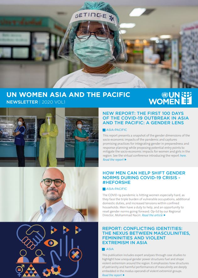 UN Women Asia and the Pacific Newsletter 2020 Vol1