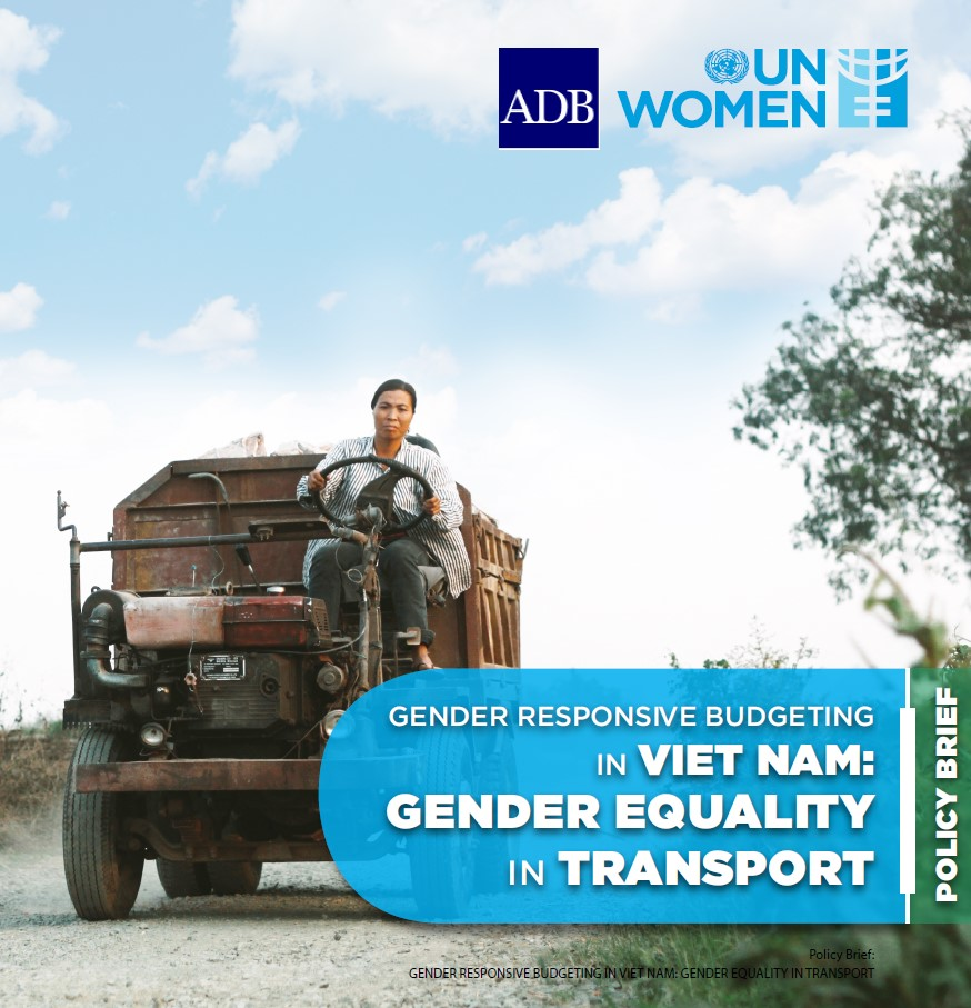 Gender Responsive Budgeting in Viet Nam: Gender Equality in Transport