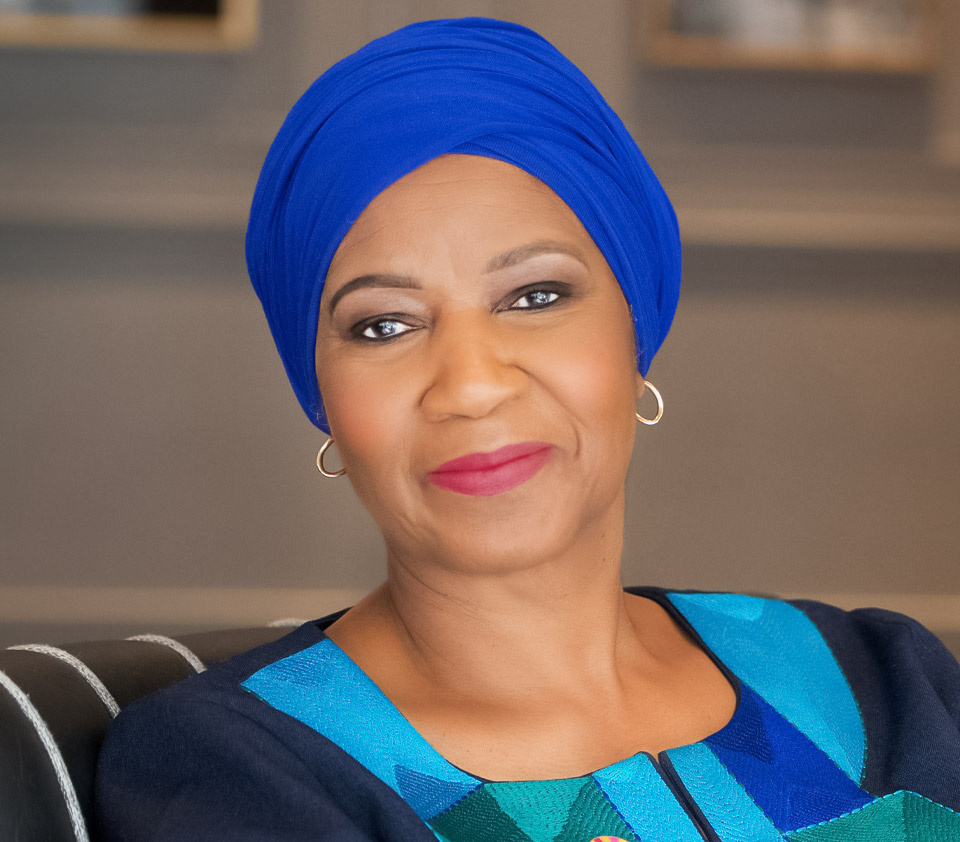 Phumzile Mlambo-Ngcuka, Executive Director Under-Secretary-General of the United Nations. Photo: Kea Taylor
