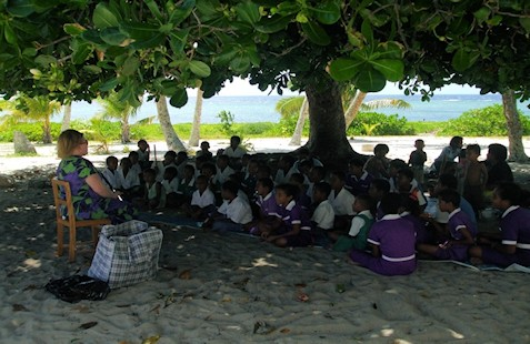 Reaching Out to Women with Disabilities in the Outer Islands