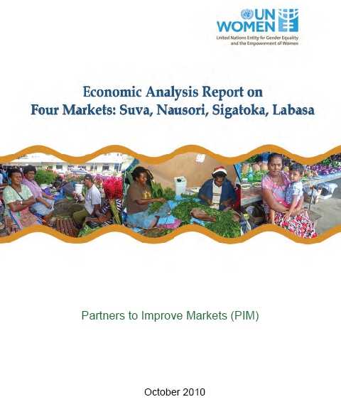 Economic Analysis Report on Four Markets in Fiji