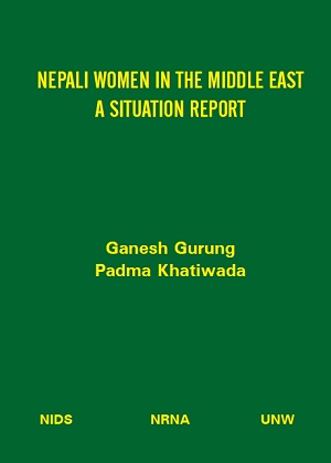 Nepali Women in the Middle East - A Situation Report