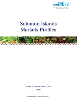 Solomon Islands Markets Profiles