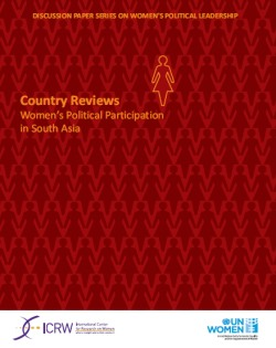 Country Reviews: Women's Political Participation in South Asia