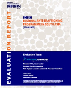 Evaluation of Regional Anti-Trafficking Programme (2000-2009)