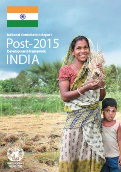 National Consultation Report: Post 2015 Development Framework India